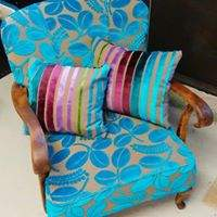 K-chair in Designers Guild fabric