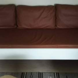 Custommade matrass and cushions in leather
