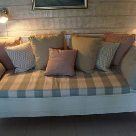 Custommade matrass and cushions